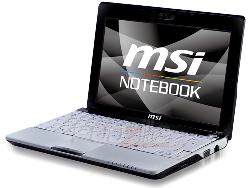 msi windu120 MSI Wind U120 kuvissa