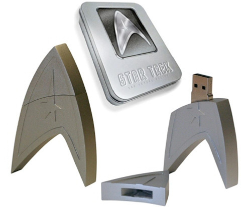 500x star trek flash drive Star Trek  elokuva muistitikulla