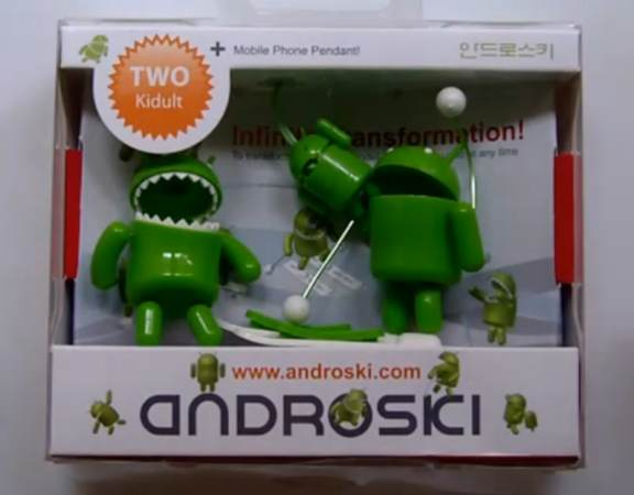 android Android Action Figure   AndroSki