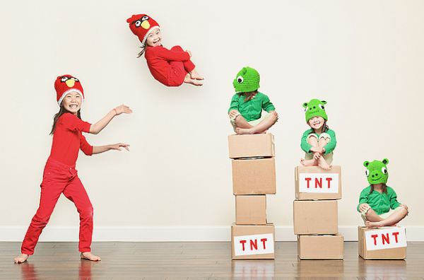 ab Angry Birds Cosplay