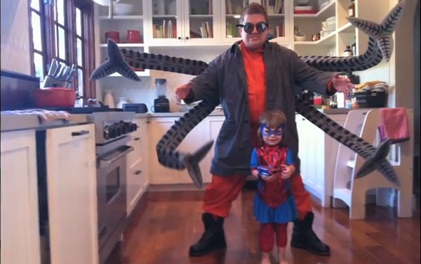 oswalt as doc ock Adam Savage ja Halloween